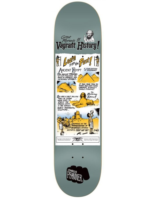 Anti Hero Pfanner Vagrant History Pro Deck - 8.25""