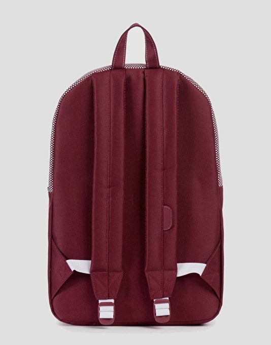 Herschel Supply Co. Heritage Backpack - Windsor Wine/Micro Polka Dot