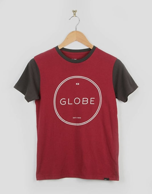 Globe Windsor Boys T-Shirt - Cardinal