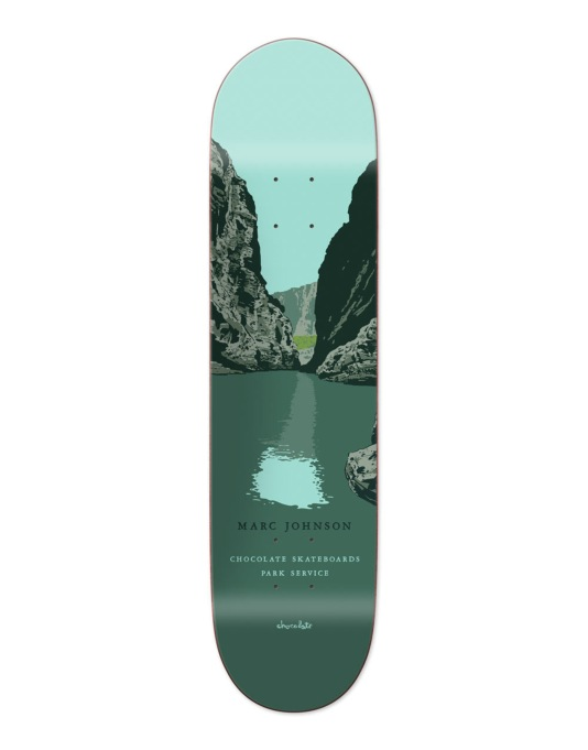 Chocolate Johnson Park Service Pro Deck - 7.75""