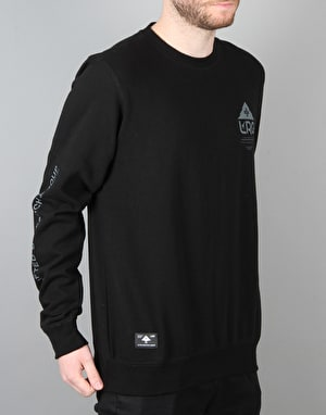 LRG One Icon Crewneck - Black