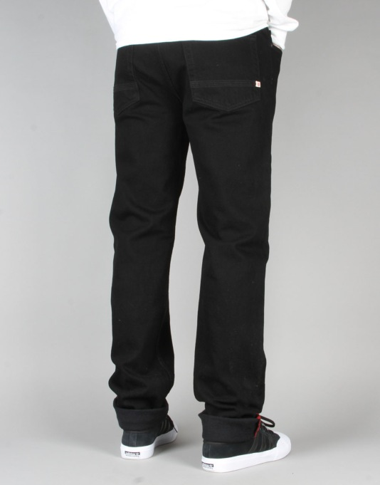 Element Owen Slim Tapered Jeans - Black Rinse
