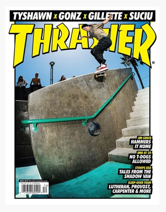 Thrasher Magazine Issue 425 December 2015
