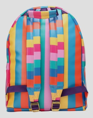 Mi-Pac Multicoloured Stripe Backpack - Multi