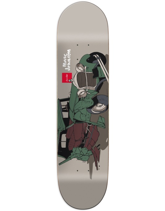 Chocolate Johnson Car Crash Pro Deck - 8.125""