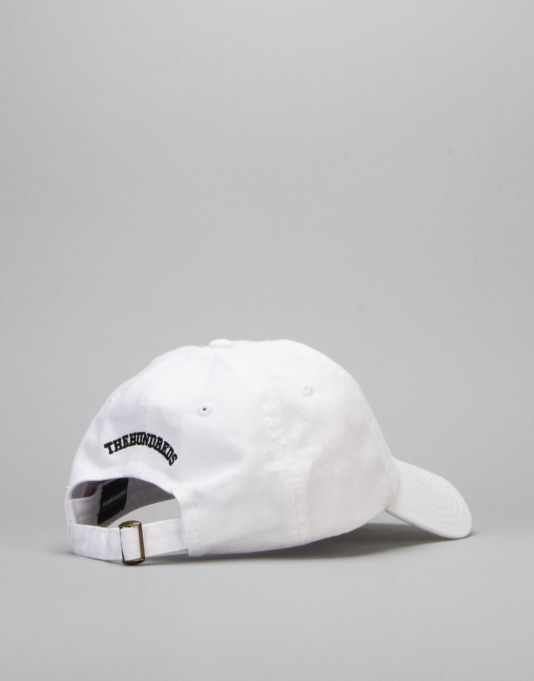 The Hundreds Solid Strapback Cap - White