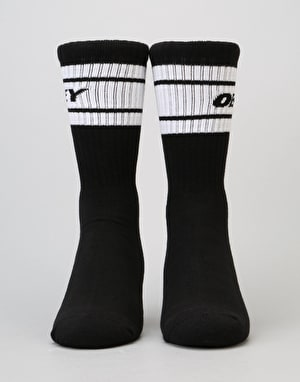 Obey Cooper Deuce Socks - Black/White