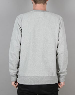 Acapulco Gold Tech Pocket Crewneck Sweatshirt - Heather Grey