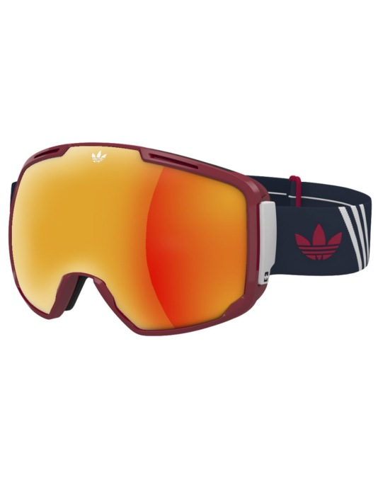 Adidas AH83 2016 Snowboard Goggles - Red Shiny/Blue White-Red