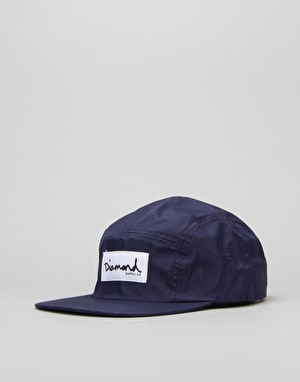 Diamond Supply Co. Porto 5 Panel Cap - Navy