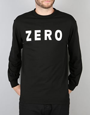 Zero Army L/S T-Shirt - Black