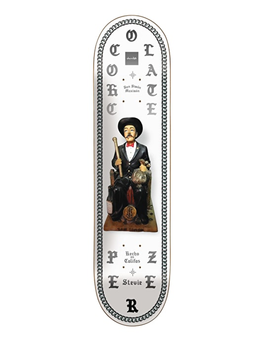 Chocolate Perez Saints Skateboard Deck - 8.25""