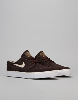 Nike SB Stefan Janoski Boys Skate Shoes - Copper/Sundrift White