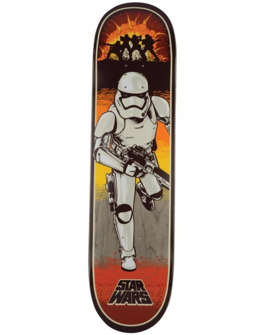 Santa Cruz x Star Wars Episode VII Stormtrooper Team Deck - 8""