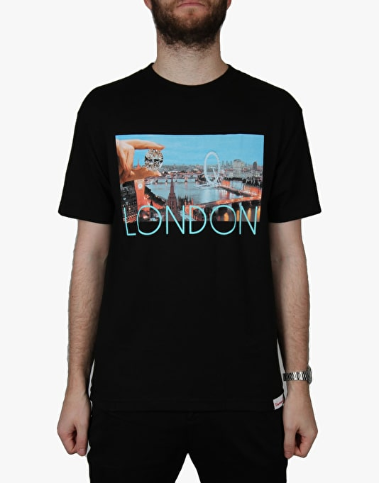 Diamond Supply Co. London Life T-Shirt - Black