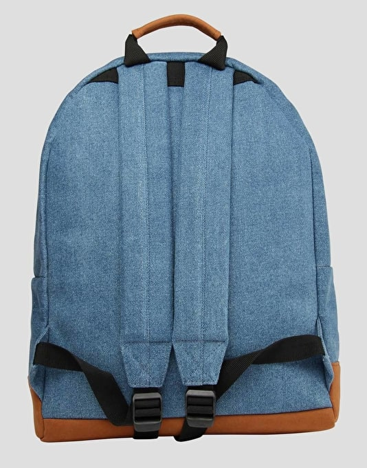 Mi-Pac Denim Patch Backpack - Denim Green