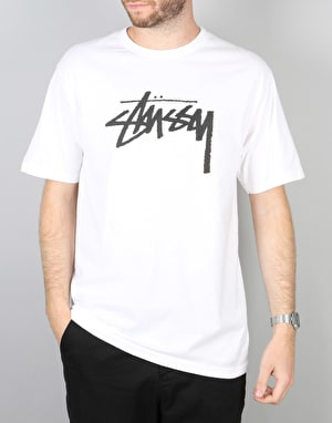 Stüssy Stock T-Shirt - White