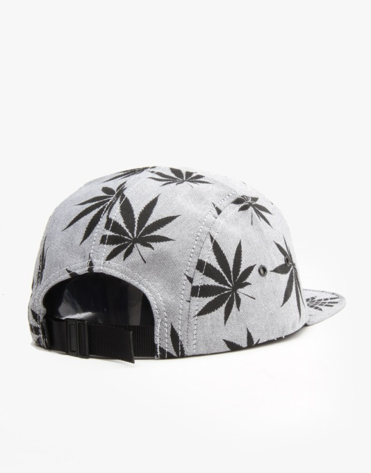 HUF Plantlife Volley 5 Panel Cap - Black