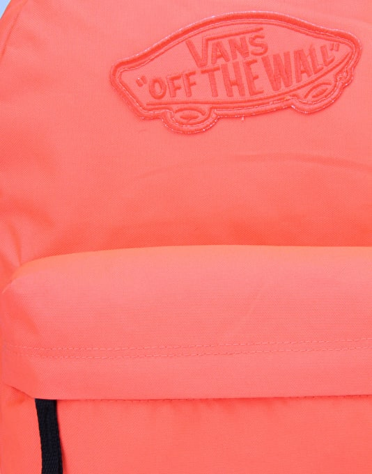 Vans Realm Backpack - Neon Coral