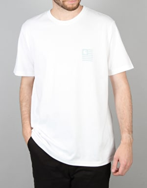 Carhartt S/S State Mountain Top T-Shirt - White
