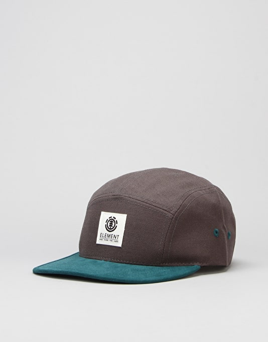 Element Reign 5 Panel Cap - Stone Grey
