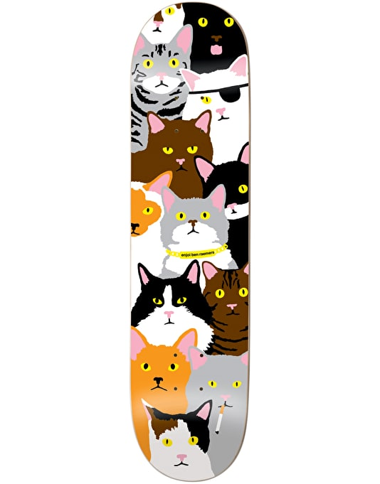 Enjoi Raemers Cat Collage Pro Deck - 8""