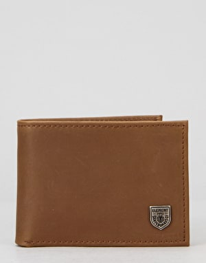 Element Segur Leather Wallet - Brown