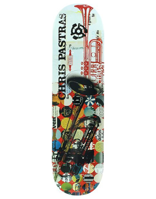 Stereo Pastras Trumpet Pro Deck - 8.25""