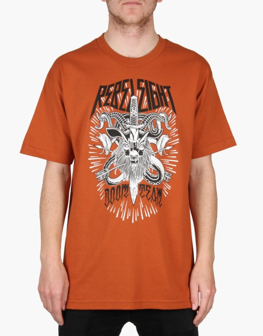 Rebel8 Doom Team T-Shirt - Rust
