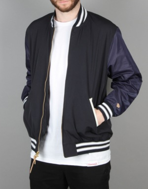 Diamond Supply Co. Facet Stadium Jacket - Navy