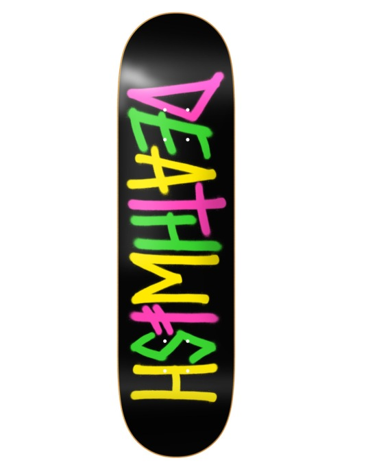 Deathwish Death Spray Multi Team Deck - 7.75""