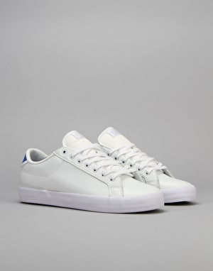 Globe Status Skate Shoes - White/Blue