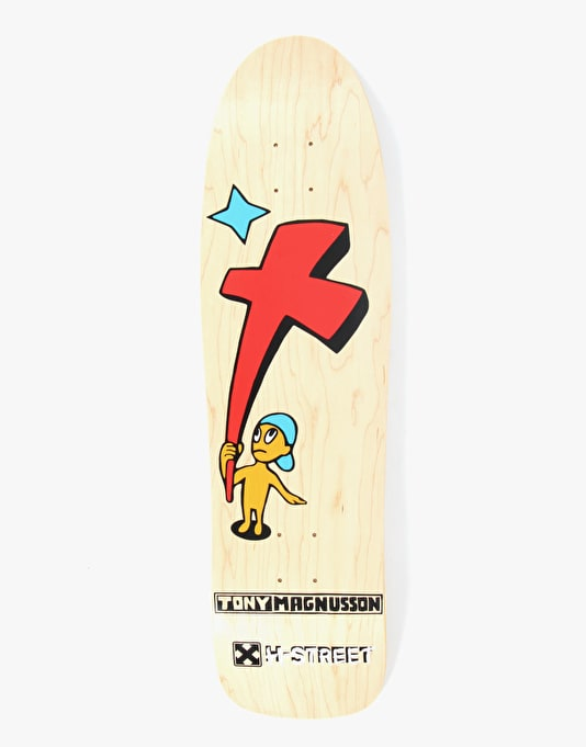 H-Street Tony Mag Kid and Cross Pro Deck - 9.25""