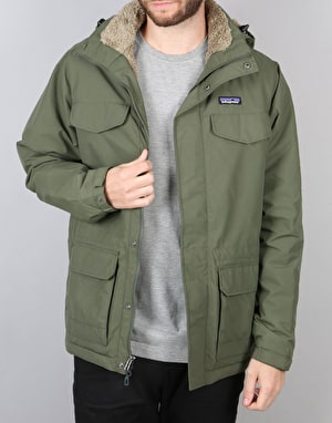 Patagonia Isthmus Parka Jacket - Industrial Green