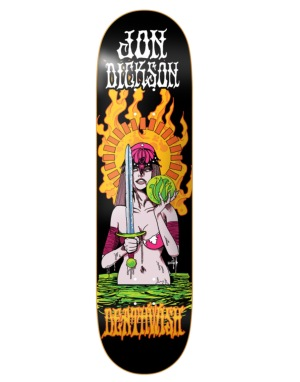 Deathwish Dickson Blacklight Pro Deck - 8.125