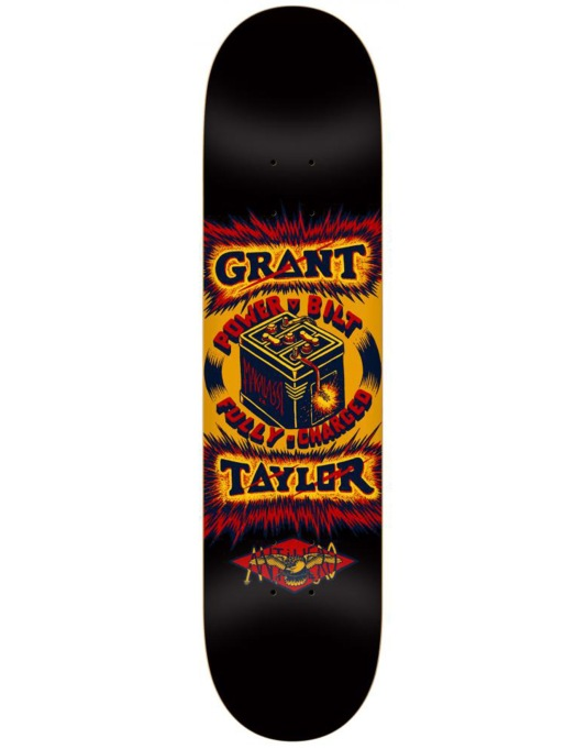 Anti Hero Taylor Power Bilt Pro Deck - 8.25""