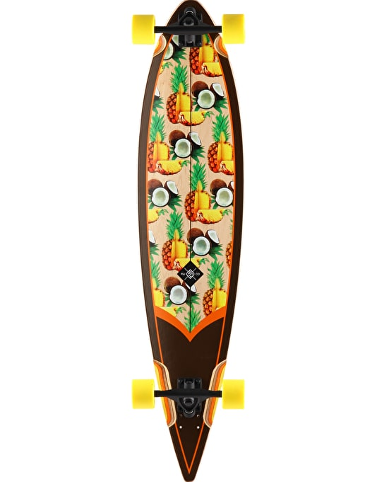 "Flying Wheels Piña Colada Longboard - 44.5"" x 10"""