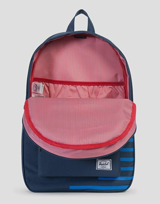 Herschel Supply Co. Settlement Backpack - Navy/Cobalt Stripe