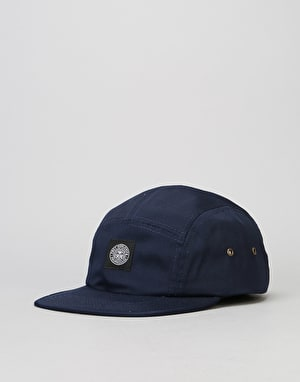 Obey Worldwide Seal 5 Panel Cap - Navy