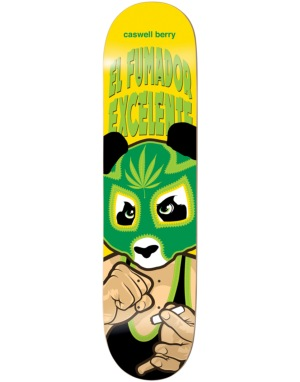 Enjoi Berry Wrestling Mask Impact Light Pro Deck - 8