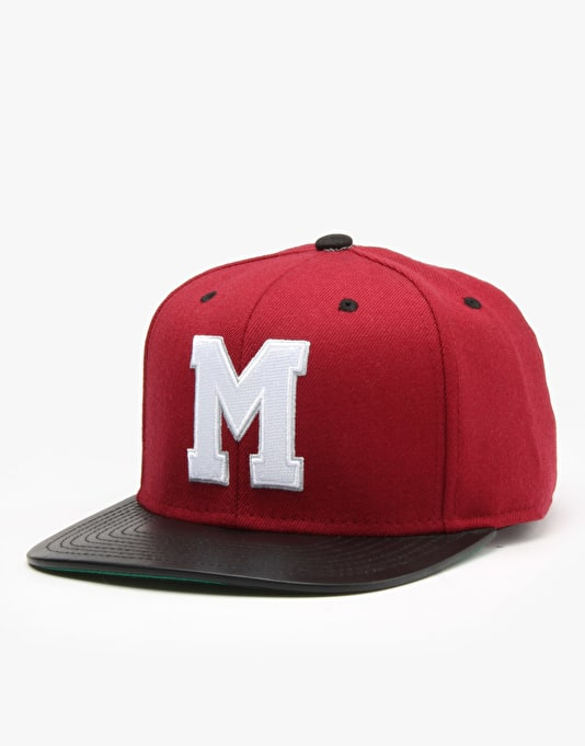 Mitchell & Ness NHL Montreal Maroons Colt Snapback Cap - Burgundy