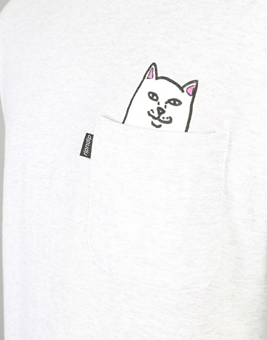 RIPNDIP Lord Nermal L/S T-Shirt - Athletic Grey