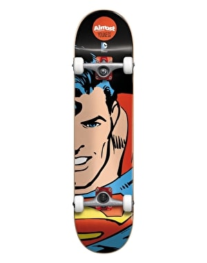 Almost x DC Comics Youness Superman Split Face Mid Complete - 7.375