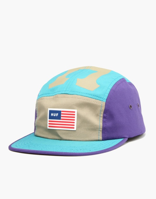 HUF Sport Volley 5 Panel Cap - Jade