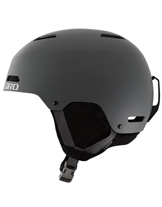 Giro Ledge 2016 Snowboard Helmet - Matte Dark Shadow