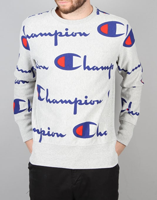 Champion Crewneck Sweatshirt - LOXG