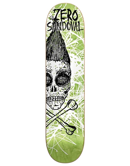 Zero x Fos Sandoval Dark Ages Impact Light Pro Deck - 8.25""
