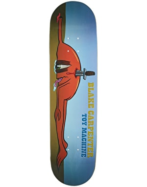 Toy Machine Carpenter Back Stab Pro Deck - 8.125
