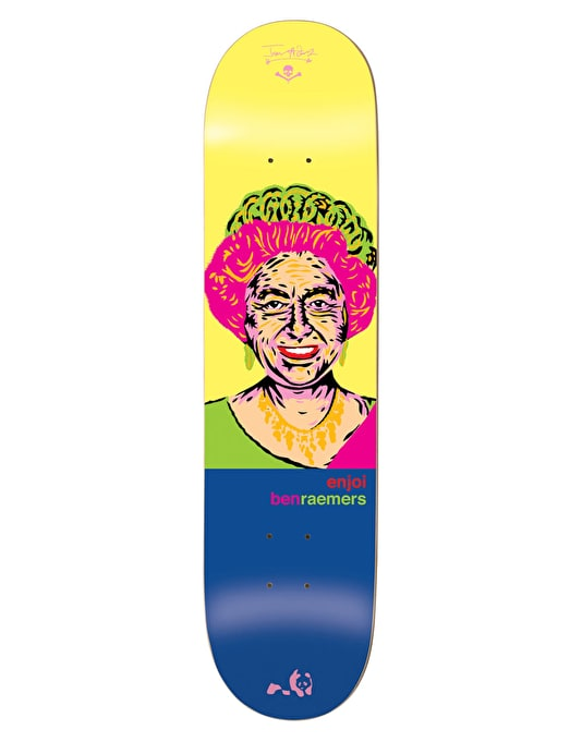 Enjoi x Jason Adams Raemers Presidents Pro Deck - 8.25""