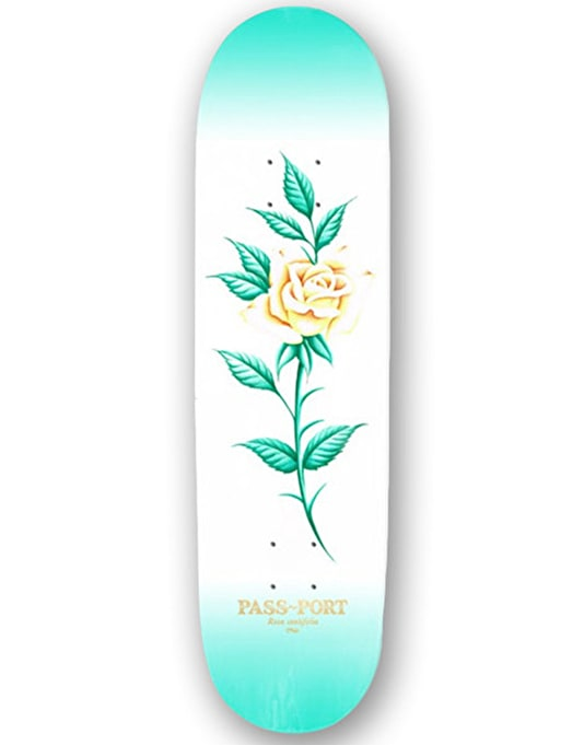 Pass Port Roses Attractive Floral Team Deck - 8.125""